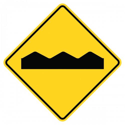 bumpy sign